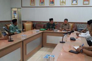 PC LWP NU Surabaya Silaturahim ke BPN Surabaya