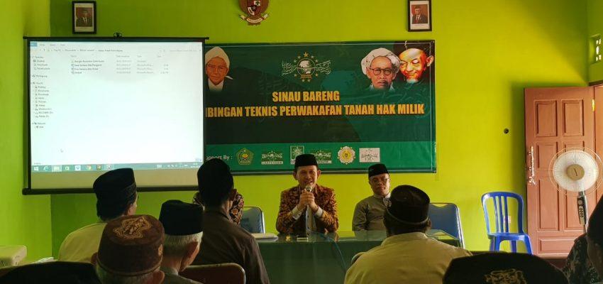 Sinau Bareng Perwakafan LWP PCNU Kab Malang