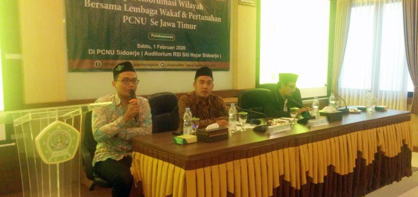 Jatim: Pilot Project Database Aset Wakaf NU di Indonesia.