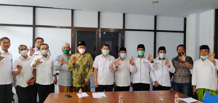 Audiensi PCNU dan BPN Bangkalan