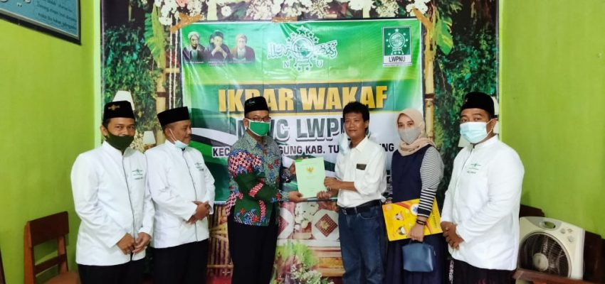 Ikrar Wakaf BHPNU Bago Tulungagung