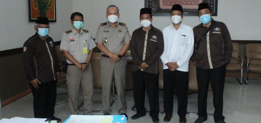 PCNU Sidoarjo Silaturahim ke BPN