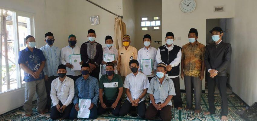 Prosesi Ikrar Wakaf 5 Bidang Tanah Kab. Malang