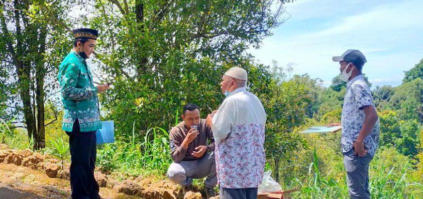 Ketua LWP Magetan Ikuti Pengukuran Tanah Wakaf